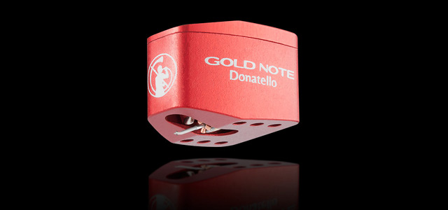 Cellule phono GOLD NOTE DONATELLO RED