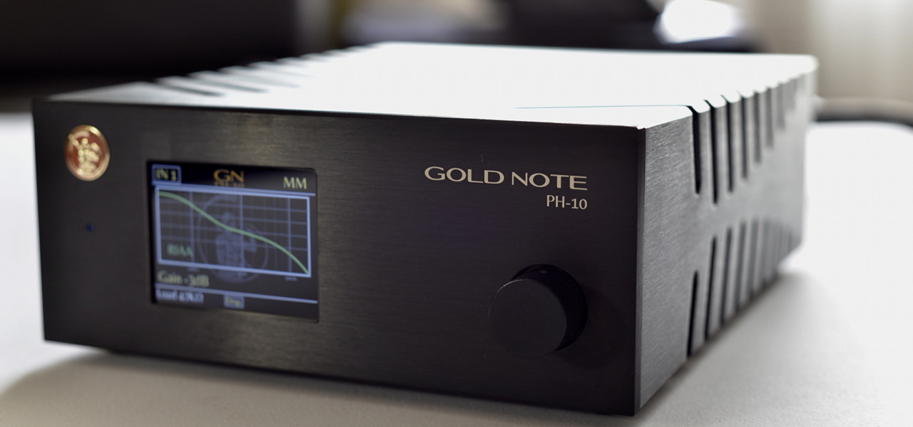 Préampli phono GOLD NOTE PH 10 v2